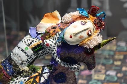 Выставка авторских кукл