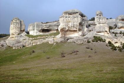 Прогулка по Крымским пещерным городам